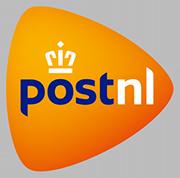 Alle bestellingen worden bezorgd door PostNL